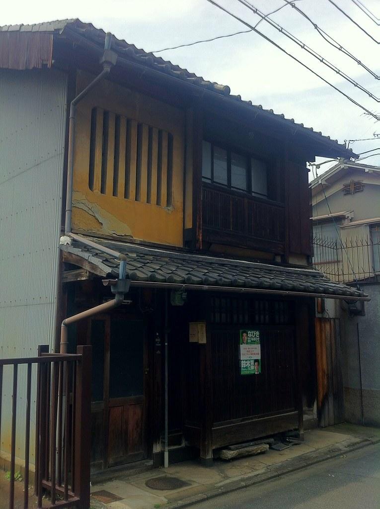 京都くずれゆく町家