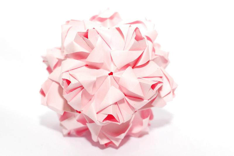 kusudamaaddicts kusudama little roses maria sinayskaya rh kusudamaaddicts blogspot com Kusudama Ball Diagrams Cherry Blossom Kusudama Diagram