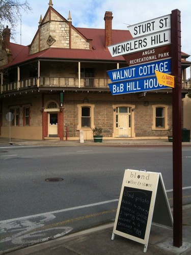 Angaston Hotel across the road