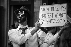 Anti Scientology Protest #5