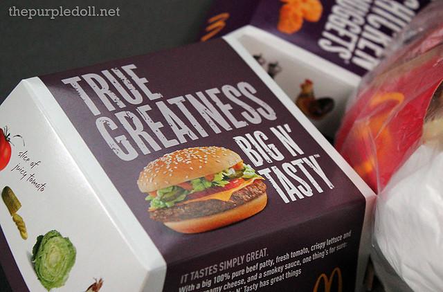 McDonalds Big N Tasty