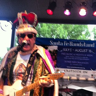 Joe King Carrasco in Santa Fe