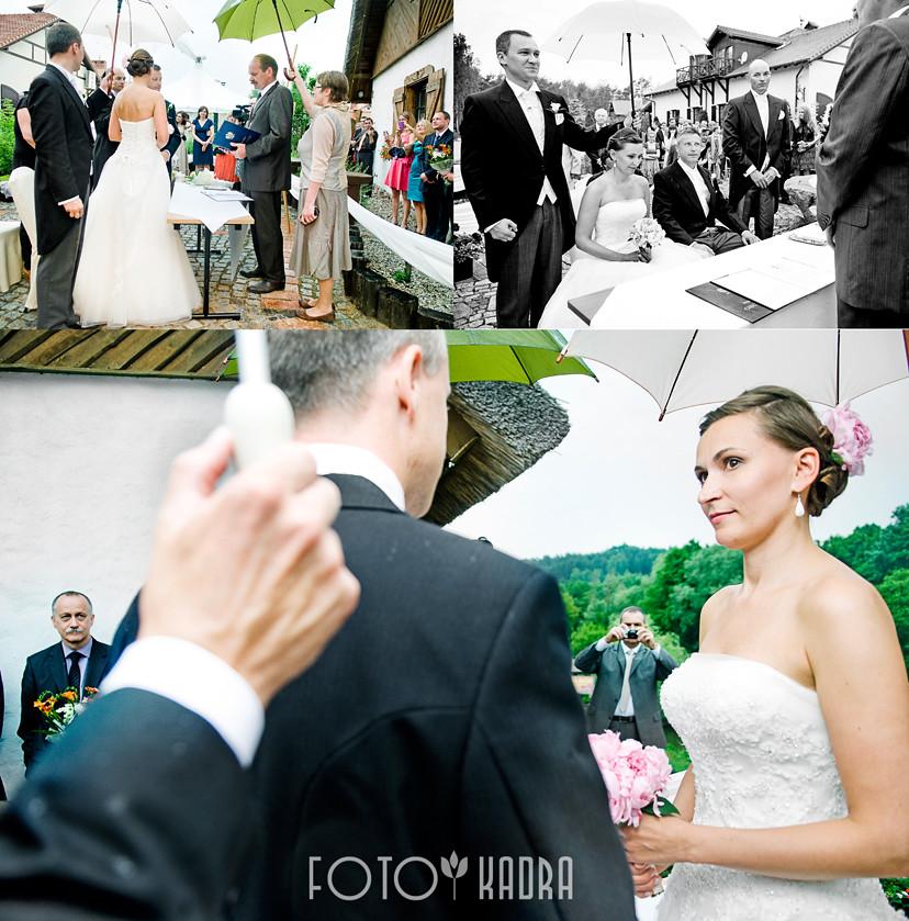 ceremonia ślubna w plenerz -Toruń