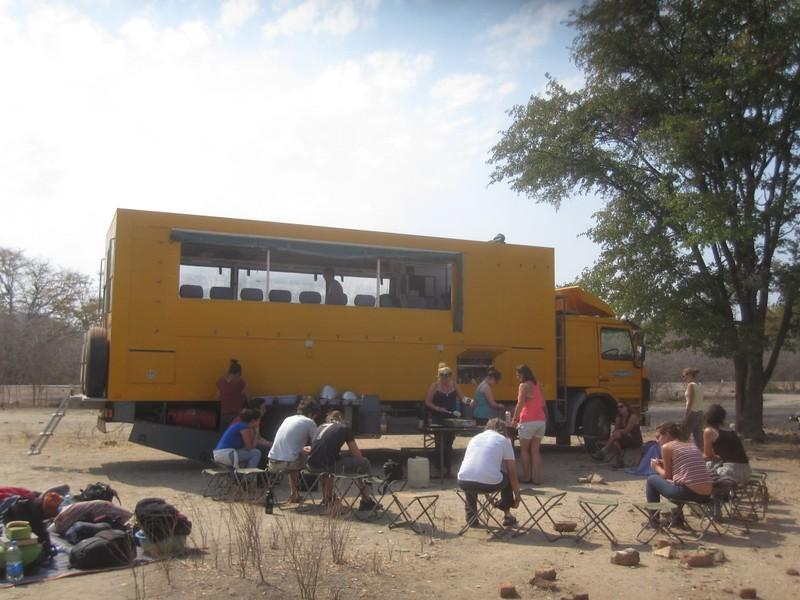 Truck Clean Zimbabwe Africa