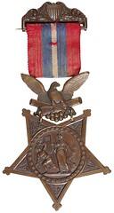 Medal of Homor awarded 1864
