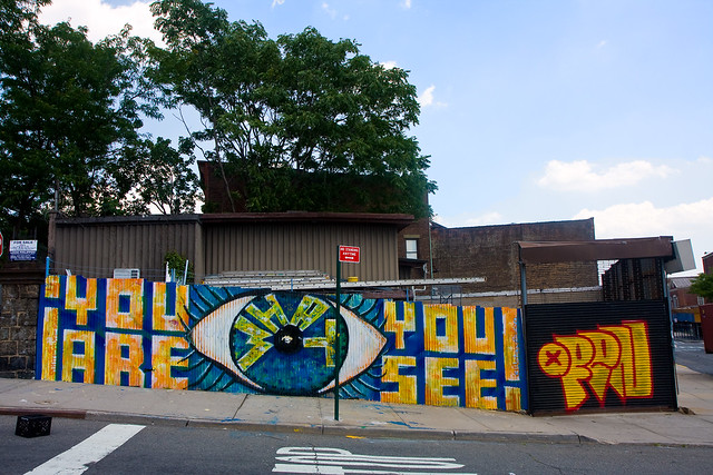 Subtexture, Welling Court Mural Project, 2012