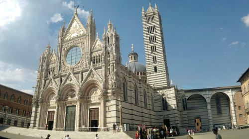 Medieval Siena in Tuscany Italy #10