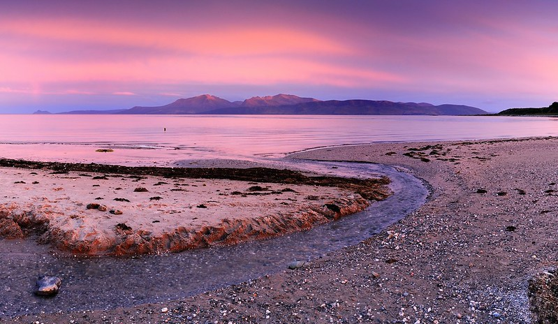 Arran from Scalpsie Bay on Bute