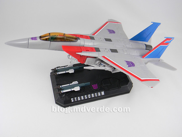 Transformers Starscream Masterpiece MP-11 - modo alterno