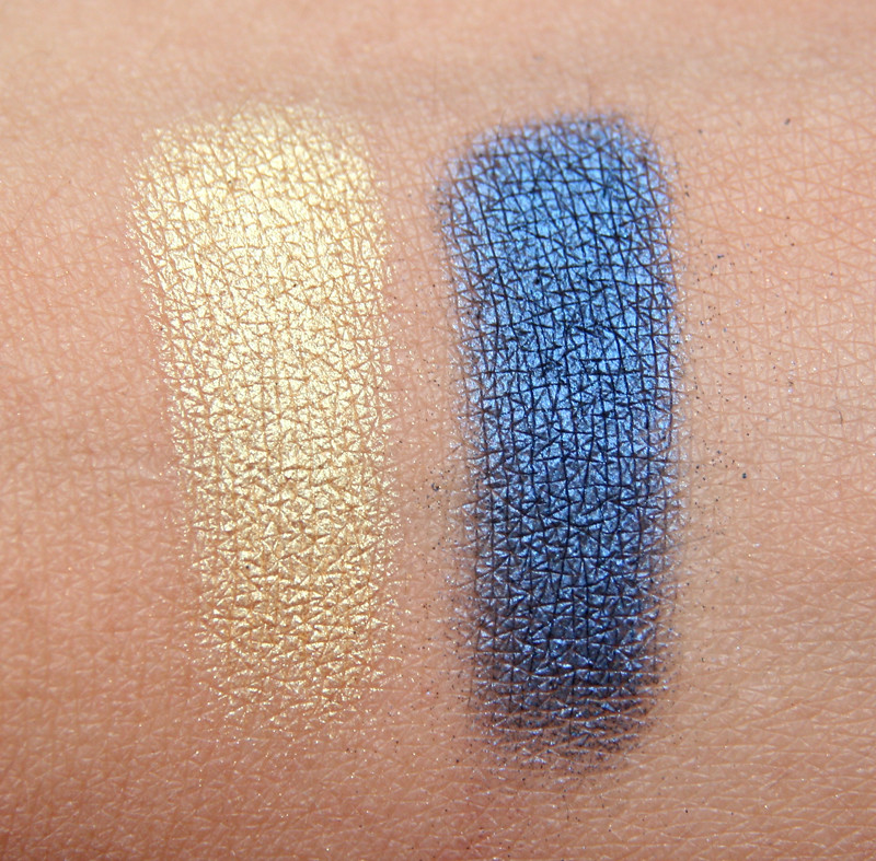 bare minerals ready the grand finale duo 2.0 eyeshadow swatch