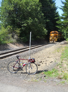 The MLCM and an eastbound Toledo turn