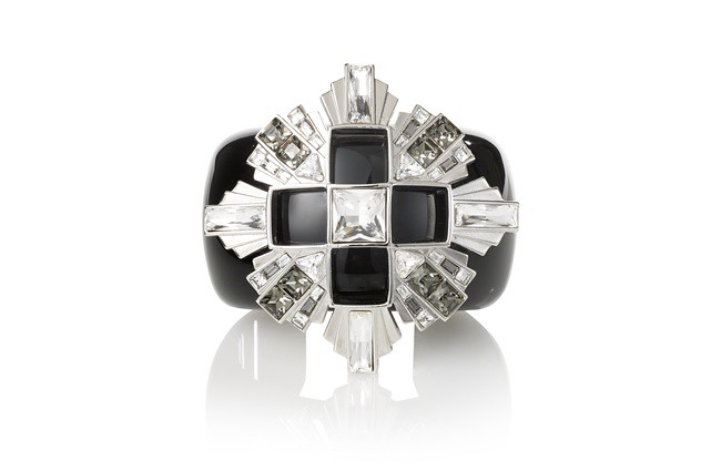 2 Atelier Swarovski Diana Vreeland Legacy Collection Cuff Black Diamond (straight shot)