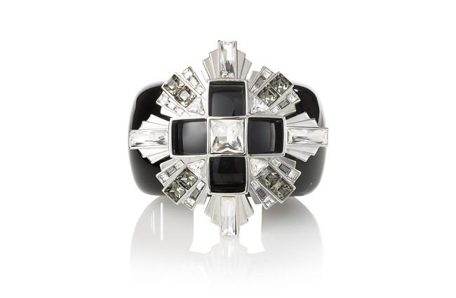 2 Atelier Swarovski Diana Vreeland Legacy Collection Cuff Black Diamond (straight shot)