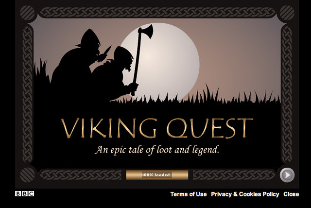 Viking Quest - Splash screen