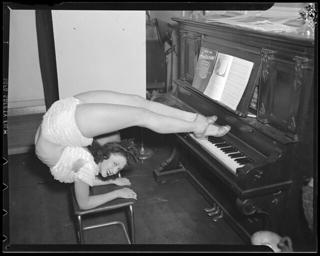 Contortionist, CC-BY-NC-SA, Boston Public Library