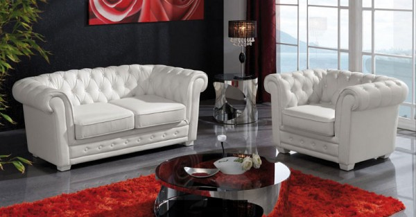Sofas chester salas estilo ingles en ambientes modernos for Sofa cama chester