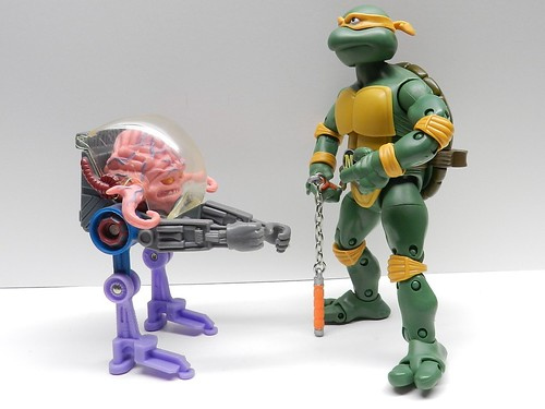 Ninja Turtles Classic Collection Krang Walker