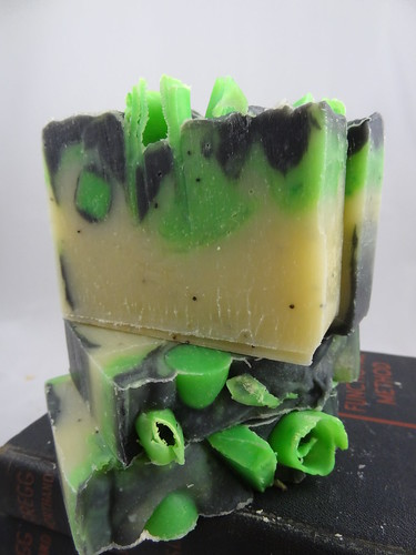 Lime & Ginger Soap July 2012 (3)