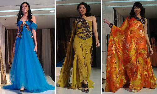 Koleksi Gaun Glamor Di Kemilau Raya Kompas Com