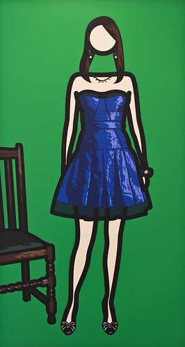 Julian Opie @ Lisson Gallery by H A P P Y F A M O U S A R T I S T S