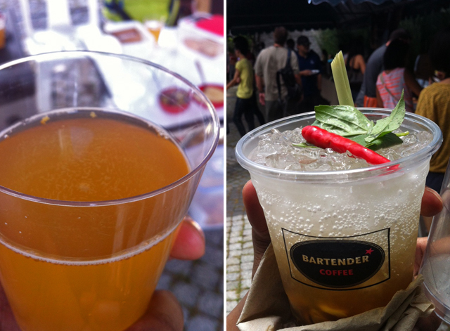 Beverages at Big Bite Bangkok
