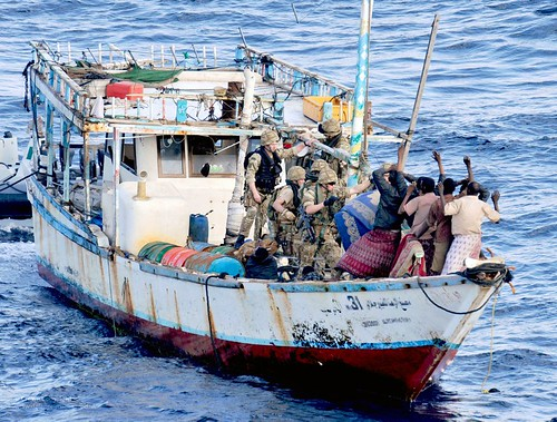 Royal Marines on Counter Piracy Operations Near Somalia by Defence Images