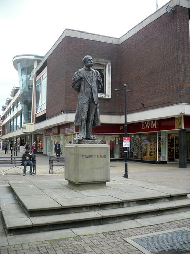 Statue of Edward Elgar, Worcester