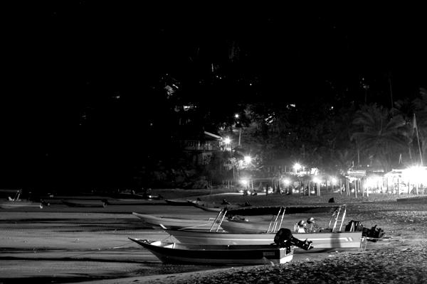 En la noche