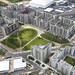 Aerial photo of the Olympic and Paralympic Village