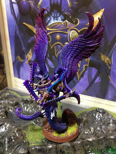 Fulgrim, daemon prince of slaanesh and primarch of the Emperor's Children