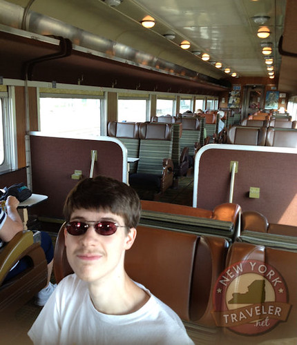 On the ADK RR Cabin 1