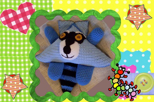 funmigurumi huggy dumplings ranger the raccoon1c