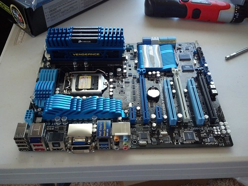 motherboard and memory