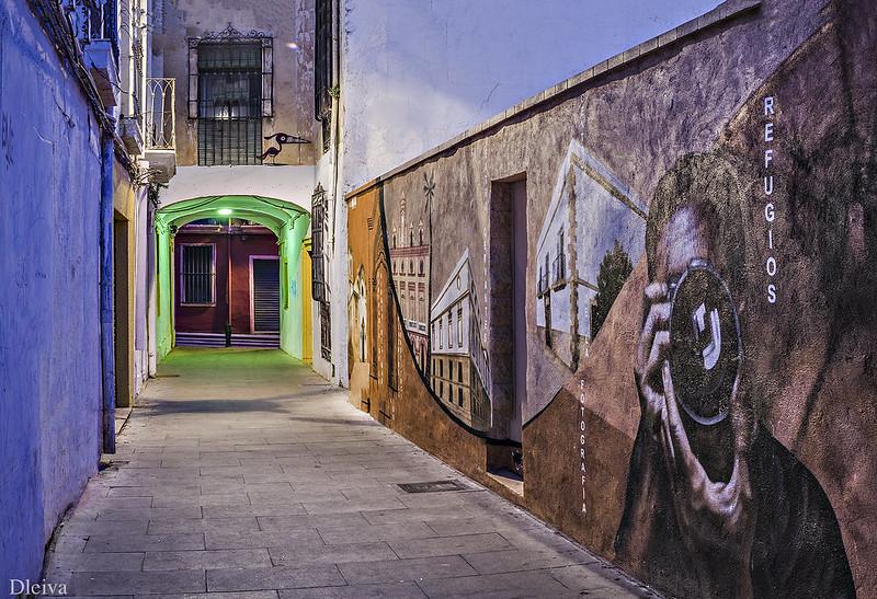 """EXPOSICIÓN """"Almería, una mirada al Centro"""" (Calle del Arco)"""