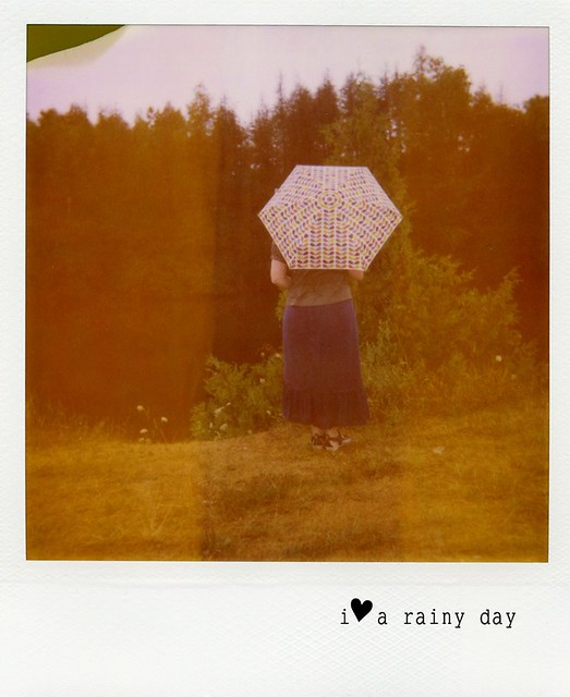 polaroid - I ♥ a rainy day