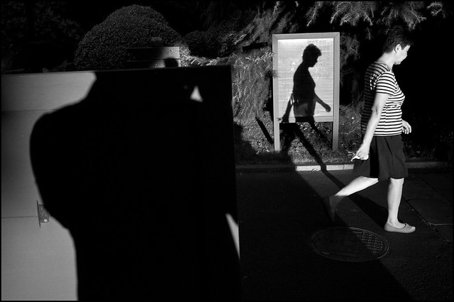 Shanghai Street Photography - Great Examples of Shadows in Street Photography