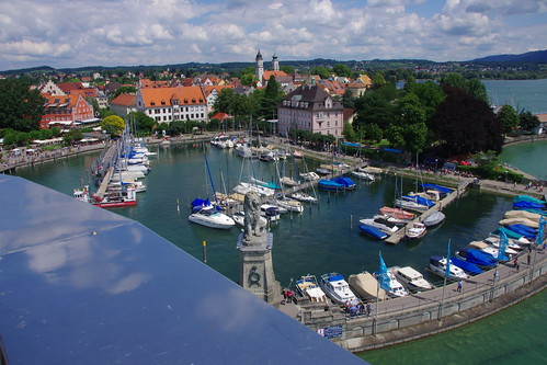Lindau: view from the lighthouse