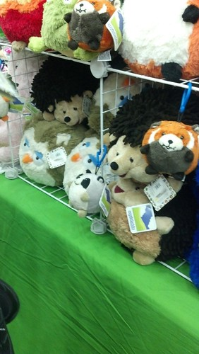Plushies for Sale at Otakon 2012