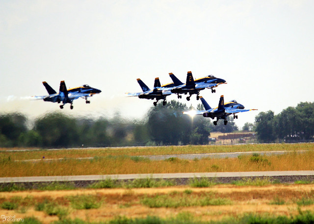 Blue Angels - Twin Falls, Idaho - 2012