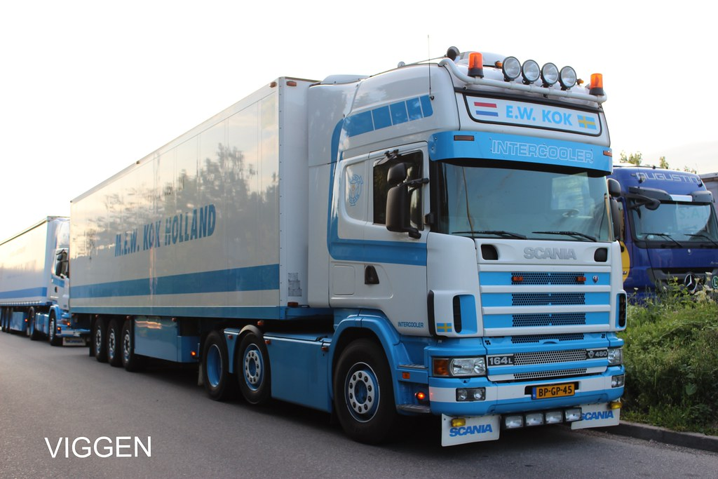 Kok Halland : KOK  HOLLAND  SCANIA 164L V8 480 Topline  a photo on