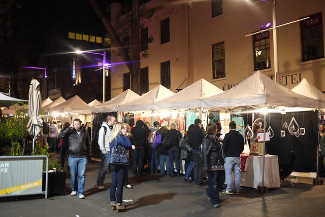 Night Market at The Rocks