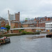 Small photo of River Aire and Centenary Bridge, Leeds