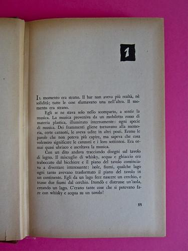 Gore Vidal, La città perversa, Elmo editore 1949. Incipit (part.), 1