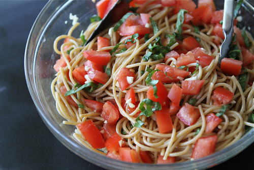 Whole Wheat Pasta Packet Recipe With Goat Cheese TomatoesFor Camping