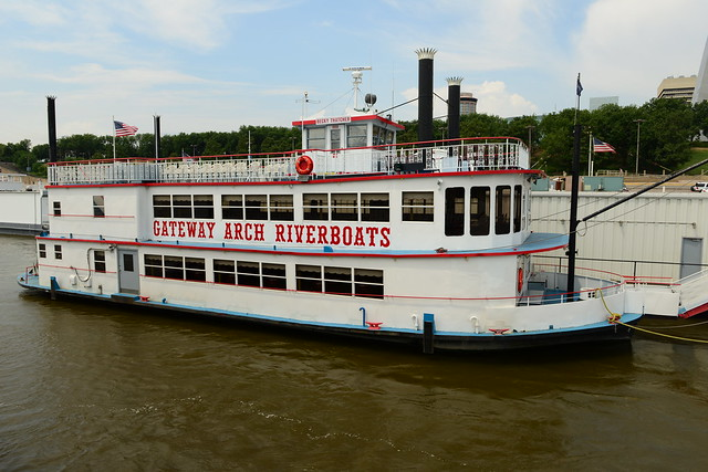 Mississippi River Cruise Boat St Louis Mo Flickr