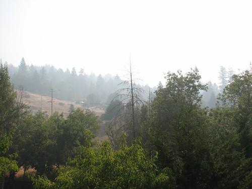 smoke wildfire brooktrails