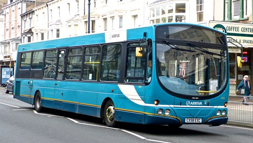 CX58 EXC 'Arriva Wales' 2912 VDL SB200CS / Wright Pulsar on 'Dennis Basford's railroadsrunways.blogspot.co.uk'