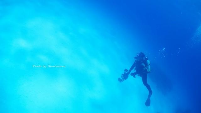 黒島ブルーを満喫しました♪