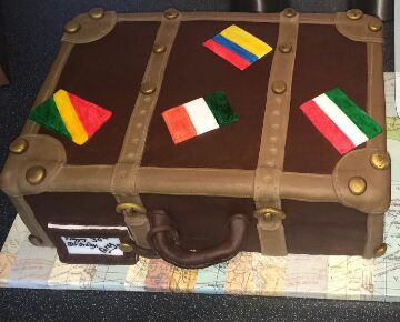 Attaché Case Cake by Claire Johnson of Cake Crumbs