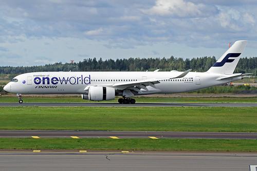 Finnair Airbus A350-941 OH-LWB HEL 30-08-16